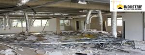 demolition dépose de cloisons